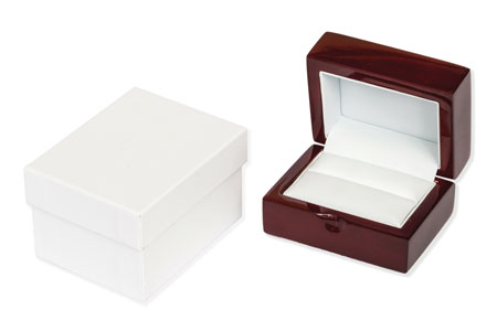 Windsor Double Ring/Cufflink Box Image