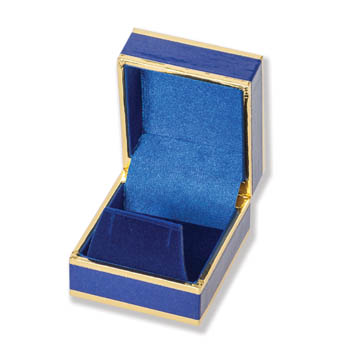 Monza Blue/Gold Earring Boxes Image